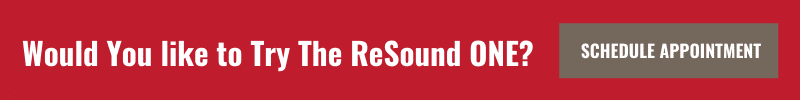 Try ReSound One appointment banner