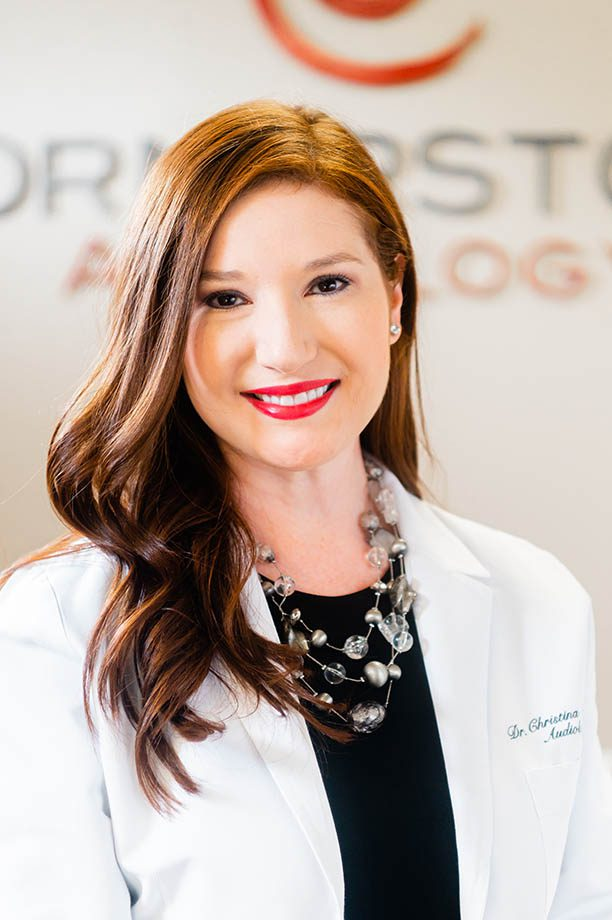 Dr. Christina Corrales, Board Certified Audiologist at Cornerstone Audiology